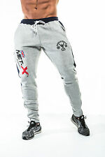 Men's Training Joggers, Sweat Pants, Gym Sports Track Bottoms, Slim Fit Tapered