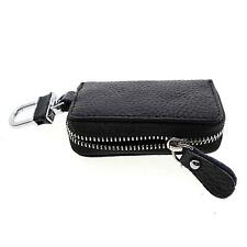 Pocket Mini Leather Key Storage Wallet Holder Purse Pouch Zipper Bag Case Cover