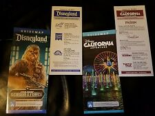 Disneyland / DCA California Adventure Guide Maps - Jan 2017 Chewbacca WOC