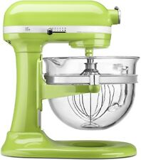 KitchenAid KF26M2XGA 6-Qt. Professional 600 Design Glass Bowl Gloss Green Apple