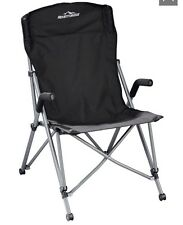 Expedition Chair Camping Folding Chair Black NEW In Bag