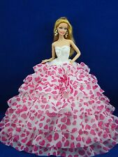 barbie robe  barbie vêtements  barbie robe de soirée