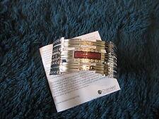 """Cuff Bracelet #52967 """"F. C. Robie House Rug"""" Frank Lloyd Wright Inspired NWT"""