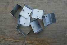 Fence Panel Brackets, Fence Post Clips x 30 - 47mm x 47mm/SLOT A30