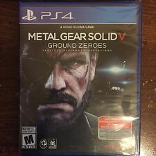 Metal Gear Solid V: Ground Zeroes PlayStation 4 Brand New Sealed Fast Shipping
