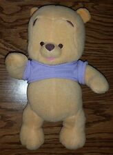 Fisher Price Baby Winnie the Pooh Plush Stuffed Animal (Rattle/Rattling) AWESOME