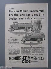 R&L Ex-Mag Advert: Morris Commercial Trucks/Sunbeam Dawn Model Car