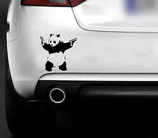 BANKSY PANDA  FUNNY CAR,BUMPER,WINDOW STICKER / JDM EURO DRIFT