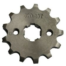 Chinese ATV dirtbike 13 Tooth Sprocket Front Coolster Taotao Baja BMS Roketa JCL