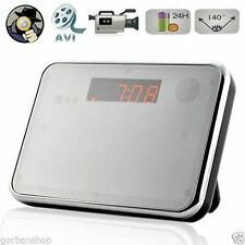 Digital Alarm Clock Security DVR Spy Hidden Camera Motion Detection Camcorder