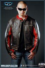 UD Replicas Batman Dark Knight Bruce Wayne Movie Replica Leather Jacket XXL NWT