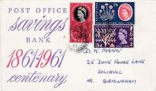 GB 1961 POSB Stamps Illustrated FIRST DAY COVER Dorchester CDS POSTARK Ref:521