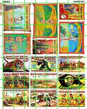 3012 DAVE'S DECALS NEW SM CIRCUS SET 5 FREAK SIDESHOW  BUY 5 SETS FREE S/H