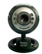 Quantum QHM495LM 25 MP USB Web cam Camera Mic Chat Video 6 Lights Night Vision