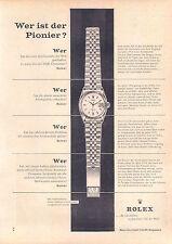 Rolex DATEJUST - - 1960-pubblicità con loghi pubblicità-vintage print ad-Publicidad Vintage