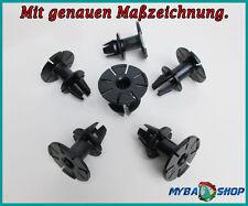 10x DISTANZCLIP SEITENSCHWELLER SPEZIALTEIL NIETKÖRPER BMW E81 X6 E82 E91... NEU