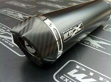 Honda CBR 400 NC 29 Gullarm Black Round, Carbon Outlet, Exhaust Can Silencer