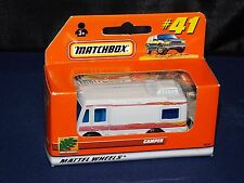Matchbox 2000 #41 Camper White In Window Box