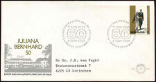Netherlands 1987 Golden Wedding FDC First Day Cover #C27904