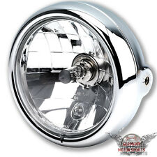 CHROM SCHEINWERFER HARLEY LOW RIDER SOFTAIL V-ROD ROAD KING GLIDE NIGHT ROD