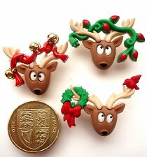 Dress it up buttons ** Oh Deer ** great  for cards and crafts