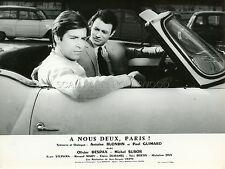 OLIVIER DESPAX MICHEL SUBOR A NOUS DEUX PARIS 1966 VINTAGE PHOTO ORIGINAL #2
