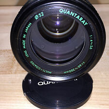 QUANTARAY 1:4-5.6 f = 60-200mm Multi-Coated Canon Mount **Near MINT**