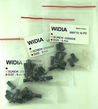 LOT OF 30 TORX SCREWS WIDIA M5X12mm SCREW FOR INDEXABLE INSERT