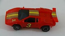 Tyco Red Ferrari #3 Slot Car HO Scale for Electric Racing Tracks #7