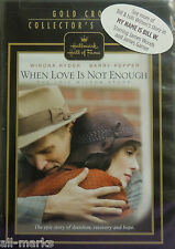 "Hallmark Hall of Fame ""When Love Is Not Enough: The Lois Wilson Story"" DVD- New"