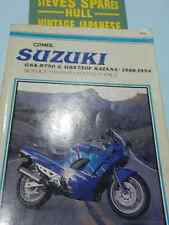 GSXR750/GSX750F,1100F KATANA  models .1988-1994 CLYMER WORKSHOP MANUAL ,