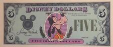 ** Very Scarce Original 1st Year 1987 $5 Proof Goofy Disney Dollars