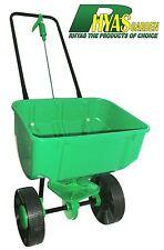 Rhyas High Capacity 35kg Lawn Garden Fertiliser Feed Seed Spreader Broadcast