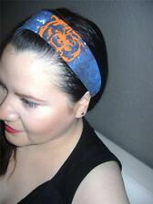 HANDMADE CHICAGO BEARS *Women Headband Hair Accessory Hair Band With Elastic