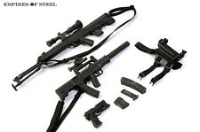 "1/6 Scale Distressed Sniper Rifle Pistol Gun Model Toy For 12"" Action Figure"