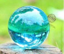 Asia's rare ocean blue crystal healing magic ball ball 40 mm + stand.2