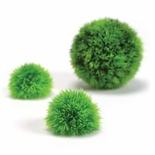 Biorb Pack of 3 Moss Balls Plastic Artifical Plants Reef One Genuine Easy Plant