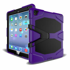 For iPad 2/3/4Mini /Air /Pro Heavy Duty Cover Shockproof Rubber Case with Stand
