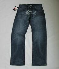 BILLIONAIRE BOYS CLUB ICE CREAM RUNNING DOG MEDIUM DENIM JEANS PANTS TROUSERS 36