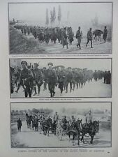 1915 1916 LANDING OF ALLIED TROOPS AT SALONIKA WWI WW1