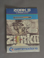 NEW Commodore Zork II The Wizard of Frobozz RARE Vintage Game C 64 128 SX 515