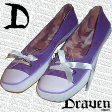 DRAVEN Girls Shoes / Trainers 5 UK - 7.5 USA Womens - Square Toe - Purple