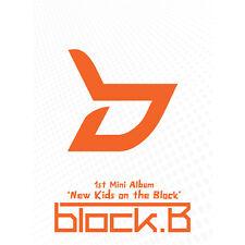 BLOCK. B [ NEW KIDS ON THE BLOCK ] 1ST MINI ALBUM BLOCK B