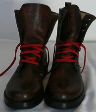 WOMANS FRYE BOOTS SIZE 6 VERONICA DARK BROWN BRUSHED