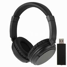NEW Sales 2.4G Hz Wireless TV Headset Over-Ear Headphone for TV Computer Laptop
