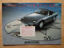RELIANT Scimitar SS1 c1984 glossy 8p UK Mkt sales brochure - 1300 1600