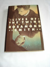 Lives of the Twins by Rosamond Smith (Hardcover w Dust Cover 1987) Very Good