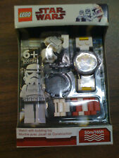 Star Wars LEGO Stormtrooper Watch White / Red Pack NEW Free Ship US