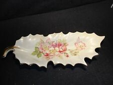 MEISSEN HAND PAINTED - PORCELAIN OVAL TRAY - EARLY SWORDS