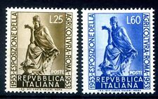 ITALIA 1953 - AGRICOLTURA   SERIE NUOVA  **